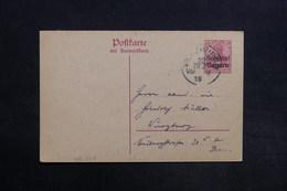 ALLEMAGNE - Bavière - Entier Postal Type Germania Surchargé - L 30755 - Bayern
