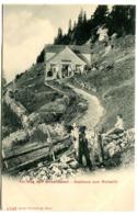 Gasthaus Zum Ruhesitz Am Weg Zum Hohen Kasten Bruelisau Env. 1905 - AI Appenzell Rhodes-Intérieures