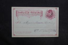 CHILI - Entier Postal De Santiago En 1895 - L 30762 - Chili