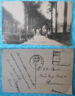 Warsage – Avenue Du Centre. Arrêt Du Vicinal. Postes. 1934 (écrite, Sans Timbre) - Belgique
