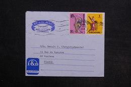 SINGAPOUR - Aérogramme Pour La France En 1972 - L 30766 - Singapour (1959-...)