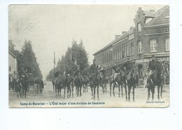 Leopoldsburg L'Etat Major D'une Division De Cavalerie Camp De Beverloo - Leopoldsburg (Camp De Beverloo)