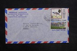 TRINITE ET TOBAGO - Enveloppe Pour La France En 1974 , Affranchissement Plaisant - L 30769 - Trinidad & Tobago (1962-...)