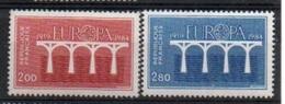"""France 1984 Y&T** N° 2309-2310 """" EUROPA 84 """" - Nuovi"""