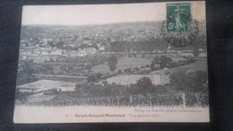 CPA 18 Saint Amand Montrond - Vue Générale - Saint-Amand-Montrond