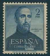España 1952 - Edifil 1118 MH - IV Centenario De La Muerte De San Francisco Javier - 1951-60 Nuevos & Fijasellos