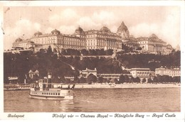 Hongrie : Budapest, Château Royal - Hongrie