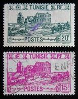 1945 TUNISIE Yt 293, 294 . Types Of 1926-28 - Tunisie (1888-1955)