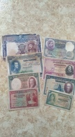 8 Billets Espagne - [ 1] …-1931 : First Banknotes (Banco De España)