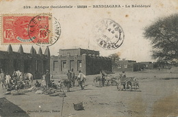Bandiagara Fortier La Residence Soudan Voyagé Kaidi Mauritanie  Tirailleur Senegalais Vers Culées Jussy Chaudrier Cher - Mauritania