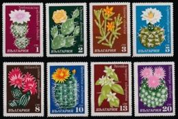 1970 Bulgaria Cactus Fiori Flowers Blumen Fleurs MNH** Fio223 - Cactus