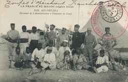 Ain Fritissa Personnel Boumendil  Cachet Legion Etrangere Sabotier St Vincent Dax Dialecte Occitan Tresor Postes 102 - Morocco