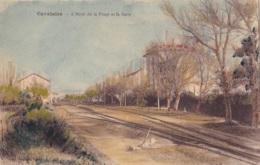 Cavalaire L'Hôtel De La Plage Et La Gare - Cavalaire-sur-Mer