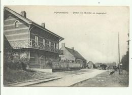 Poperinge - TRAM -  Café Jagershof - Poperinge