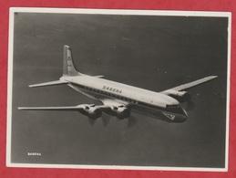 Avion - SABENA - Photo Véritable - DC-6 B In Flight - Over The North Atlantic. - Aviación