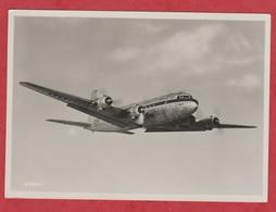 Avion - SABENA - Photo Véritable - Four-Engined DC-6 In Flihgt. - Luchtvaart