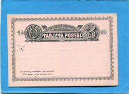 EQUATEUR-carte Crème   Neuve-*entier Postal Stationnery- 1895--U P U-3c  Armoiries - Equateur