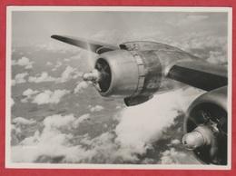 Avion - SABENA - Photo Véritable - Song Of The Engines - High Above The Clouds. - Aviación