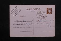 FRANCE - Entier Postal Type Pétain De Magnet Pour Paris En 1942 - L 30782 - Entiers Postaux