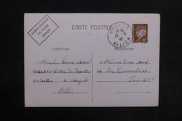 FRANCE - Entier Postal Type Pétain De Magnet Pour Paris En 1942 - L 30784 - Entiers Postaux