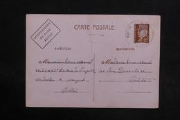 FRANCE - Entier Postal Type Pétain De Magnet Pour Paris En 1942 - L 30785 - Entiers Postaux