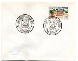 HERALDIQUE = 35 REDON 1965 = CACHET TEMPORAIRE Illustré D'ARMOIRIES 'CONGRES PHILATELIQUE ' - Postmark Collection (Covers)
