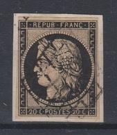 France - 1849-50 - Obl. - Y&T 3 - 20c - - 1849-1850 Cérès
