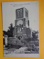 GRENAY : RUINES DE L'EGLISE - France