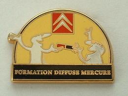 PIN'S  CITROËN - FORMATION DIFUSE MERCURE - ZAMAC - Citroën