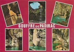 46 Le Gouffre De Padirac Divers Aspects (2 Scans) - Padirac