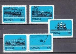 Tonga Nº 492 Al 496 - Tonga (1970-...)