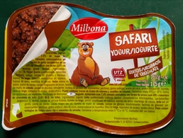 Etiquette Yaourt Milbona. - Etiquetas