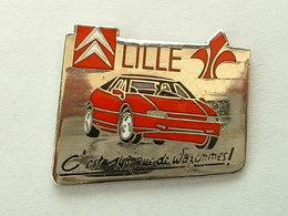 PIN'S  CITROËN - LILLE - XM - Citroën