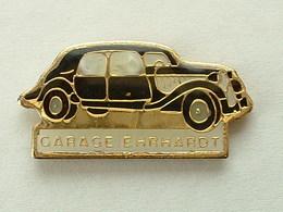 PIN'S  CITROËN - GARAGE EHRHARDT - TRACTION - Citroën