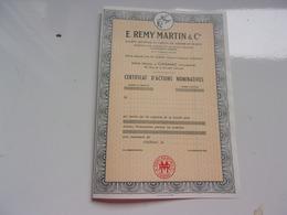 REMY MARTIN & Cie (cognac Charente) - Non Classés
