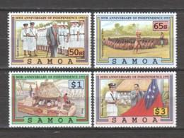 Samoa 1992 Mi 728-731 MNH INDEPENDENCE - Samoa