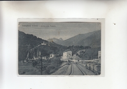 Comeglians-veduta Stazione Della Tramvia - Udine