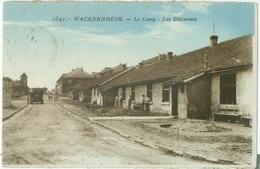 Wackernheim 1925; Le Camp. Les Bâtiments - Gelaufen. (Verlag?) - Mainz