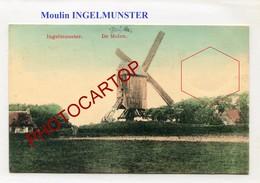 INGELMUNSTER-MOULIN A VENT-WINDMUEHLE-Periode Guerre 14-18-1WK-BELGIEN-Flandern- - Moulins à Vent