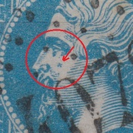 France - 1862 - Obl. - Y&T  22 - 20 C - INCROYABLE Une SVASTIKA Sur Un Timbre  Napoléon III. - Brrrrrr - 1862 Napoléon III