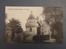 Cpa Château De Pont-Rémy, La Tour. 1916 - France