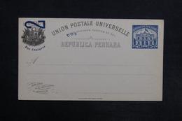 PEROU - Entier Postal Non Circulé - L 30820 - Pérou
