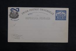 PEROU - Entier Postal Non Circulé - L 30821 - Pérou