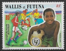 1986 Wallis Et Futuna N° 343 Nf** MNH .Mexico 86 . Coupe Du Monde De Football. - Wallis And Futuna