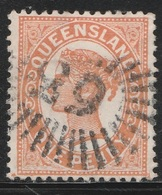 Australia, Queensland 1897 - SG 232, 1d - QV, Queen Victoria - VFU - 1860-1909 Queensland