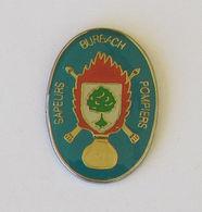 1 Pin's Sapeurs Pompiers De BURBACH (67 - BAS RHIN) - Pompiers
