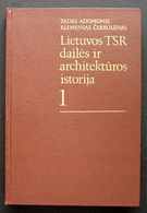 Lithuanian Book / Lietuvos TSR Dailės Ir Architektūros Istorija 1987 - Bücher, Zeitschriften, Comics