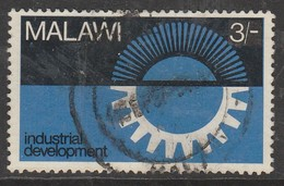 Malawi  1967 Industrial Development 3 Sh Multicoloured SW 75 O Used - Malawi (1964-...)