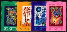 St Kitts 1984 Batik (1st Series) Unmounted Mint. - St.Kitts And Nevis ( 1983-...)