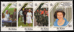 St Kitts 1986 Queens Birthday Unmounted Mint. - St.Kitts And Nevis ( 1983-...)